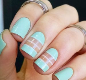 Четкий квадрат форма ногтевой пластины