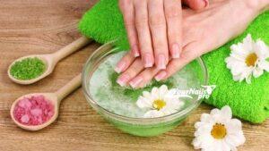 Солевые ванночки для ногтей