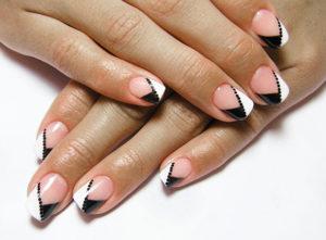 Мягкий квадрат форма ногтей пилкой