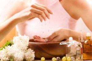 Отбеливание ногтевой пластины
