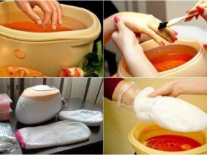 Парафиновые ванны уход за ногтями