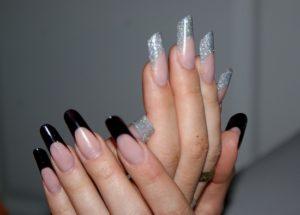 Форма нарощенных ногтей пайп